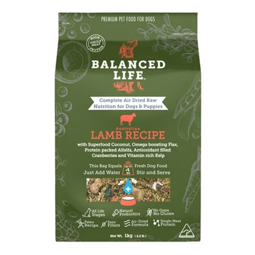 Balanced Life Dry Dog Food Lamb