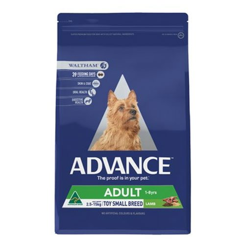 Advance Adult Dog Total Wellbeing Toy/Small Breed with Lamb & Rice Dry