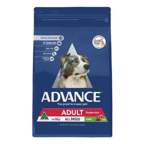 Advance Adult Dog Total Wellbeing All Breed with Lamb & Rice Dry