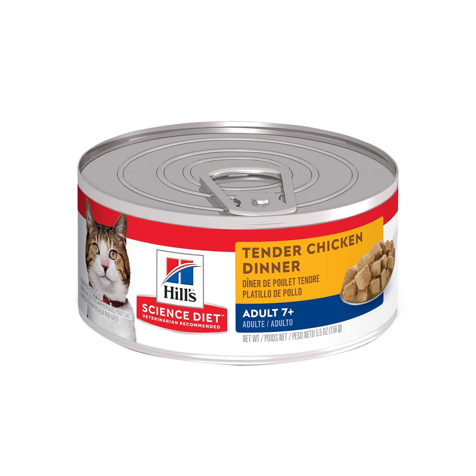 Hill's Science Diet Adult 7+ Tender Dinners Chicken Canned Cat Food  79 Gm