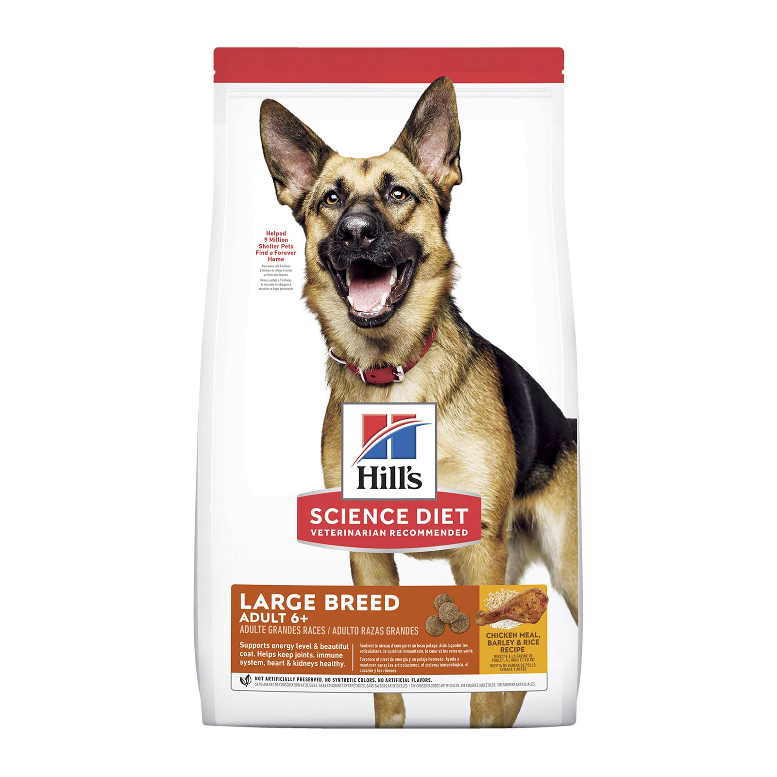 Hill's Science Diet Adult 6+ Large Breed Chicken, Barley & Rice Dry Dog Food
