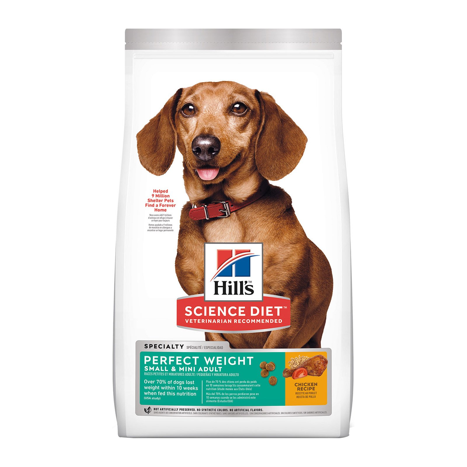 Hill's Science Diet Adult Perfect Weight Small & Mini Chicken Dry Dog Food