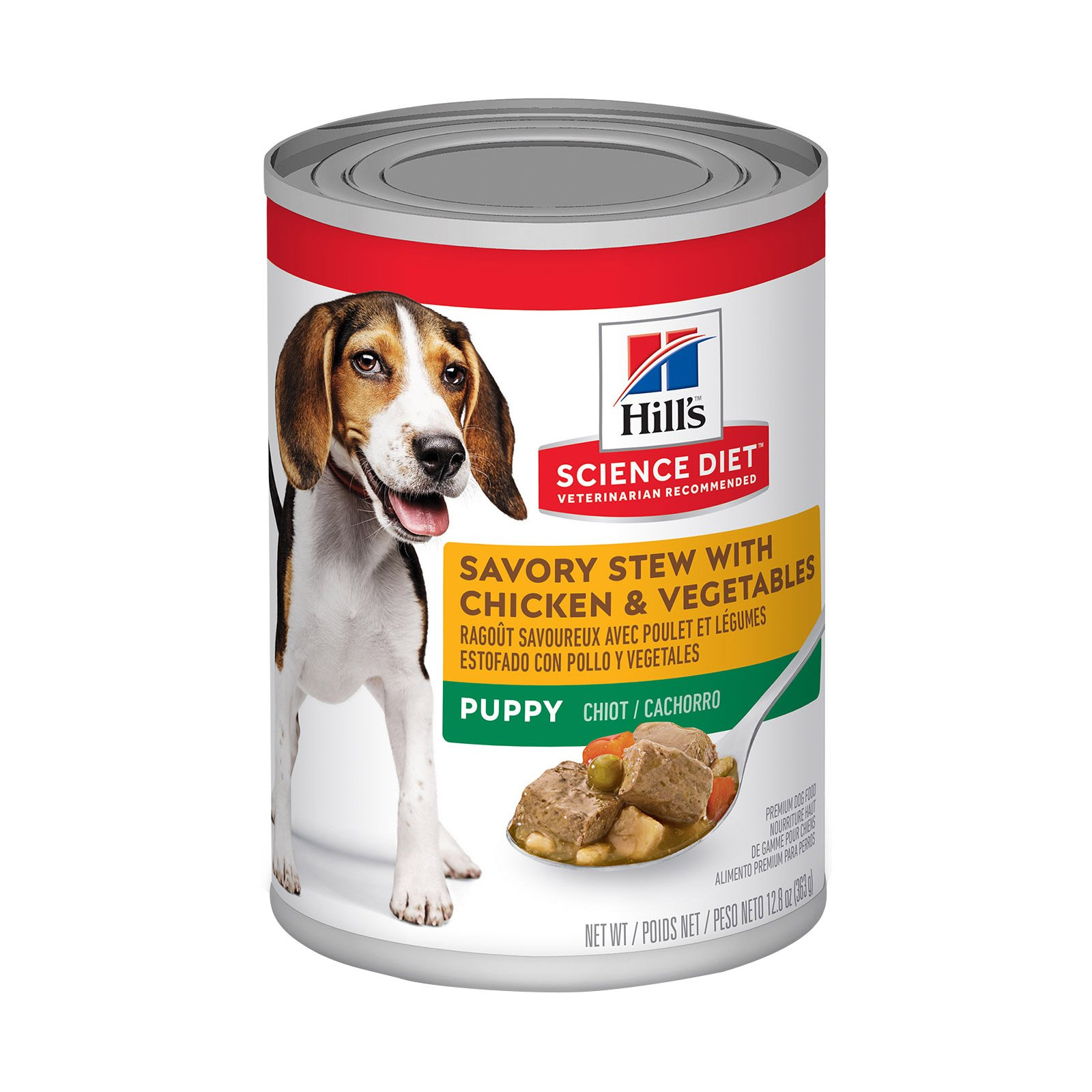 Hill's Science Diet Puppy Savory Stew Chicken & Vegetable Canned Dog Food 363 Gm