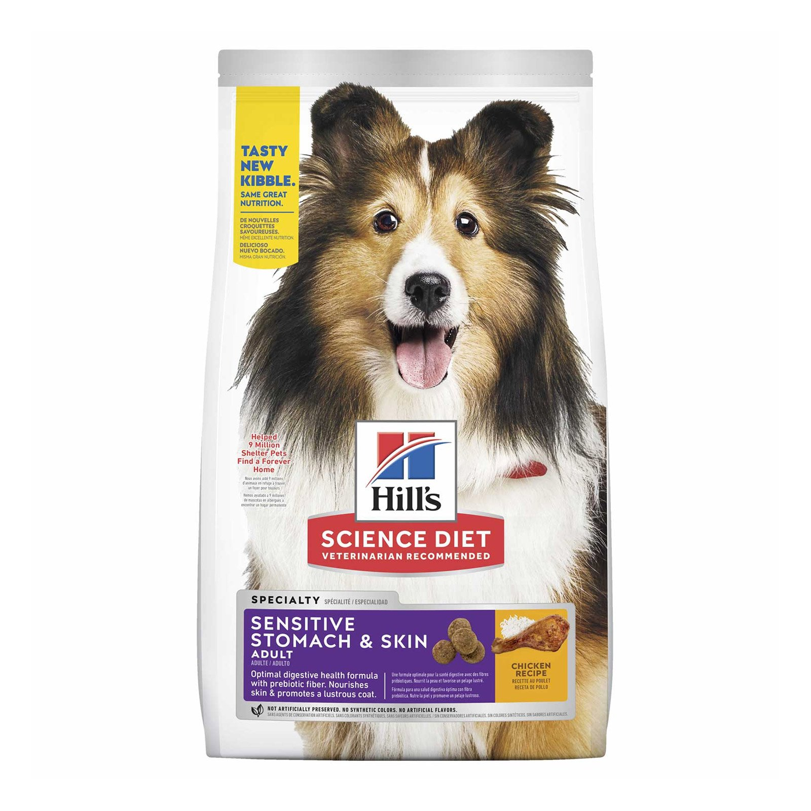 Hill's Science Diet Adult Sensitive Stomach & Skin Chicken Dry Dog Food