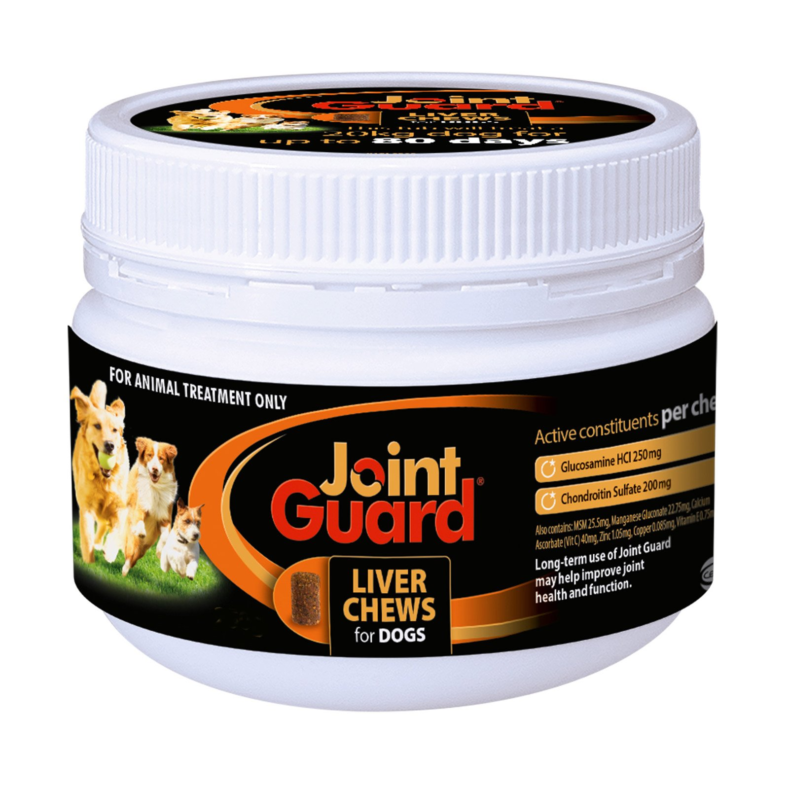 Joint Guard Liver Treat Chews For Canines 250 Gm 1 Pack Special Clearance Sale (Extra 20% Off)