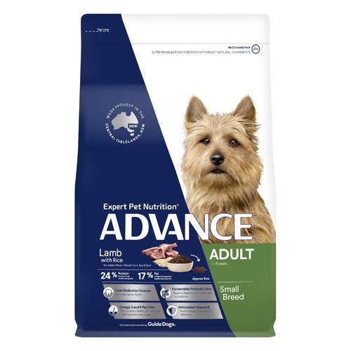 Advance Adult Small Breed Lamb with Rice Dry Dog Food