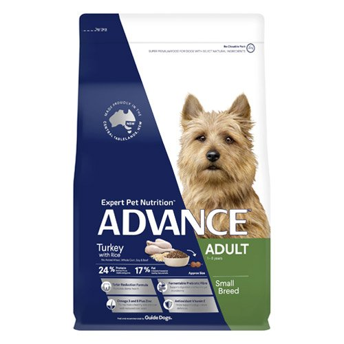Advance Adult Small Breed Turkey with Rice Dry Dog Food