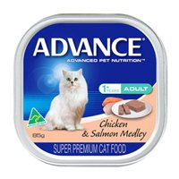 Advance Adult Cat With Chicken & Salmon Medley Cans