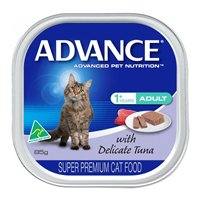 Advance Adult Cat With Delicate Tuna Cans 85 Gm