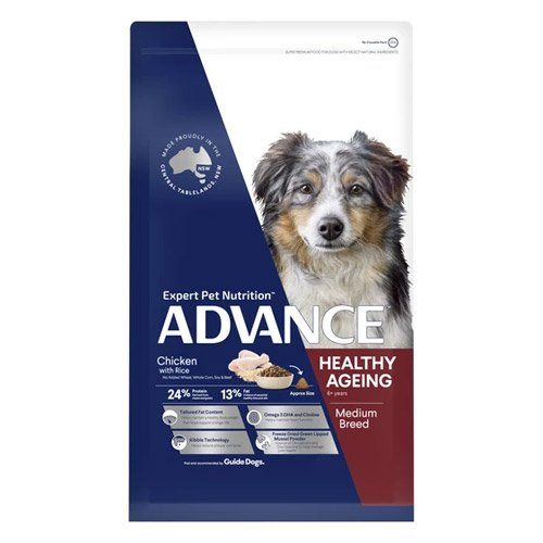 Advance Healthy Ageing Medium Breed Chicken & Rice Dry Dog Food