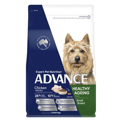 Advance Healthy Ageing Small Breed Chicken & Rice Dry Dog Food