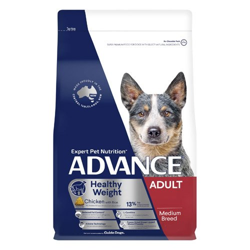 Advance Healthy Weight Adult Medium Breed Chicken with Rice Dry Dog Food