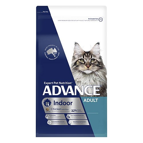 Advance Indoor Adult Dry Cat Food Chicken with Rice
