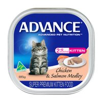 Advance Kitten with Chicken & Salmon Cans 85 Gm