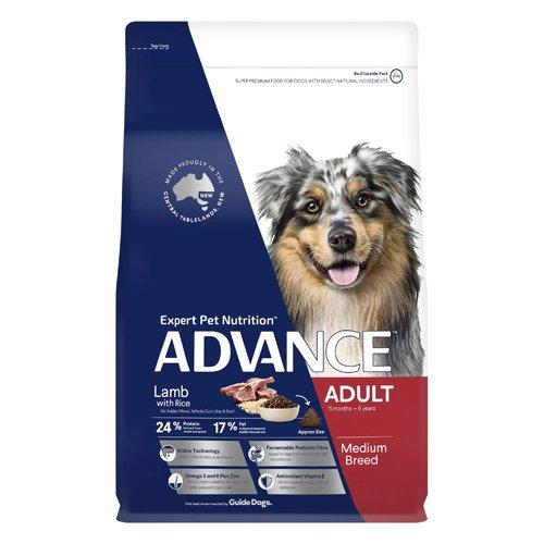 Advance Adult Medium Breed Lamb with Rice Dry Dog Food