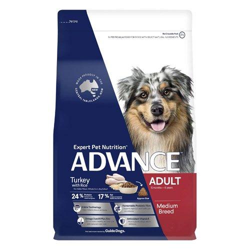 Advance Adult Medium Breed Turkey with Rice Dry Dog Food