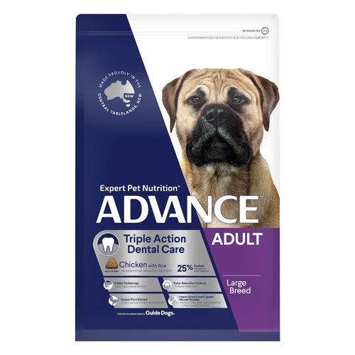 ADVANCE Triple Action Dental Care Large Breed - Chicken with Rice