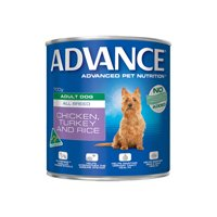 Advance Adult Dog All Breed with Chicken, Turkey & Rice Cans