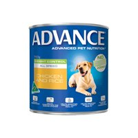 Advance Adult Dog Weight Control All Breed with Chicken & Rice Cans