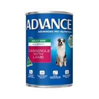 Advance Adult Dog All Breed Casserole with Lamb Cans 400 Gm