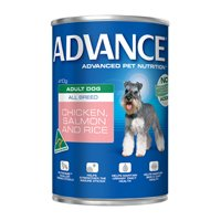 Advance Adult Dog All Breed with Chicken, Salmon & Rice Cans 410 Gm