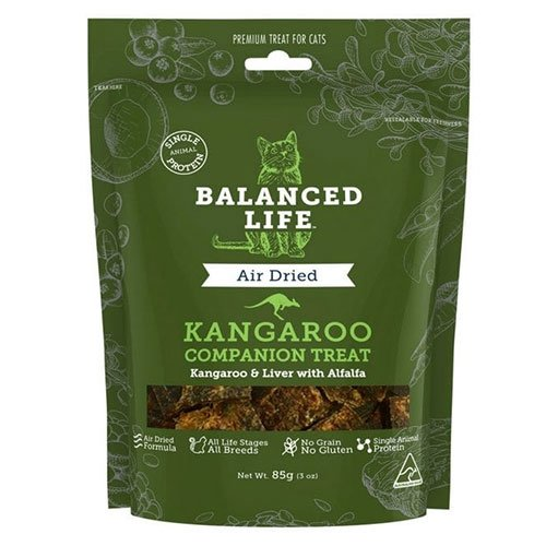 Balanced Life Companion Cat Treats - Kangaroo