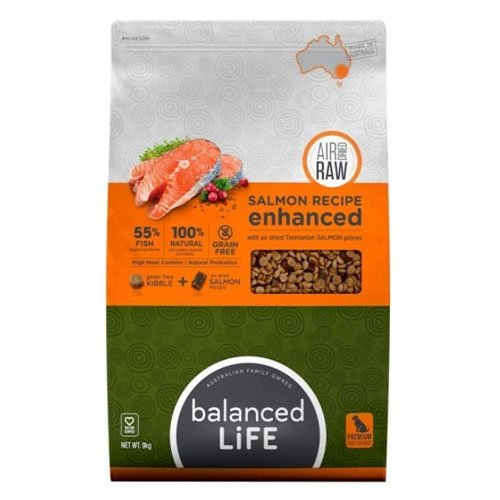 Balanced Life Enhanced Dry Dog Food With Salmon Pieces