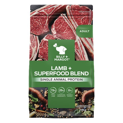 Billy & Margot Adult Lamb and Superfood Dog Food