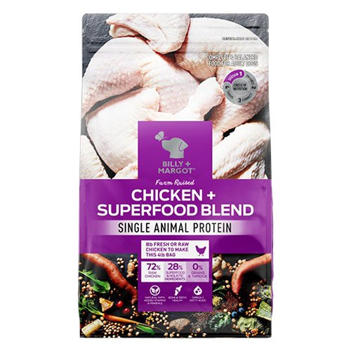 Billy & Margot Dog Adult Morsels in Gravy Chicken with Superfood 150gm X 12 Pouches