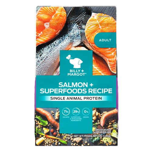 Billy & Margot Dog Adult Salmon and Superfoods