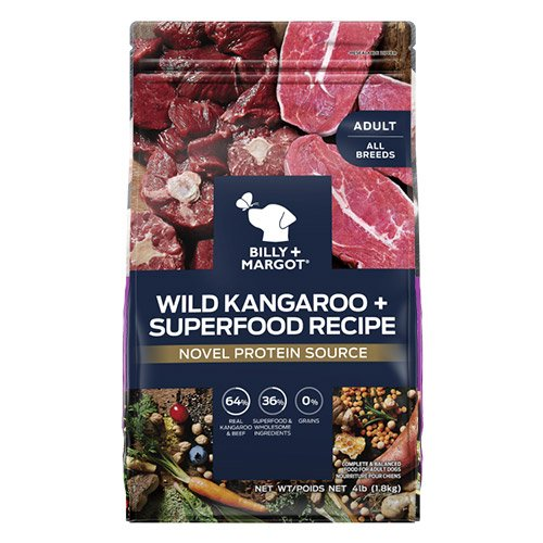 Billy & Margot Adult Wild Kangaroo and Superfood Dog Food