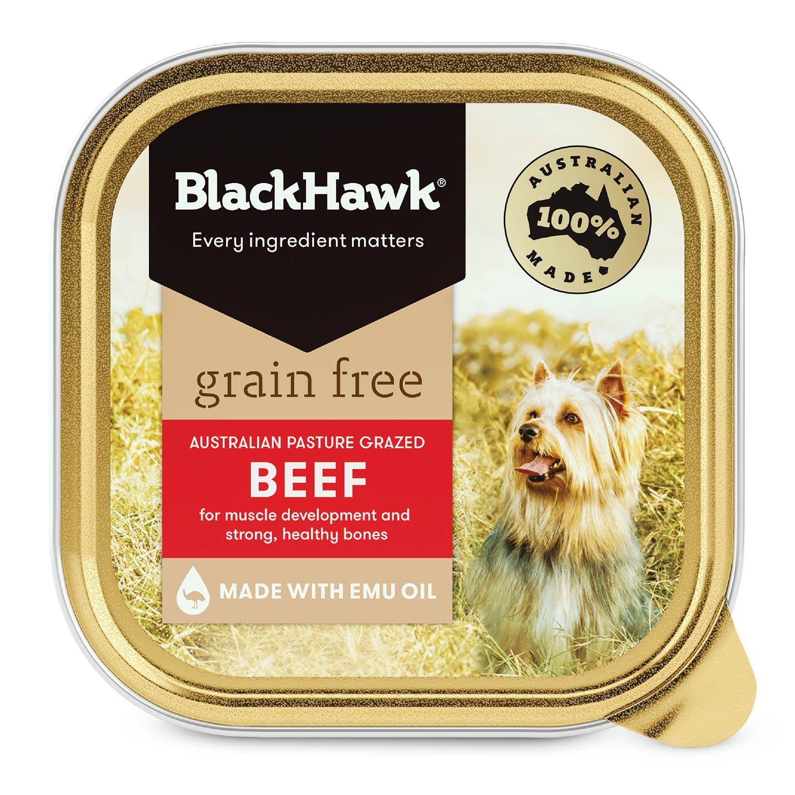 Black Hawk Grain Free Beef Canned Wet Dog Food  100 gm