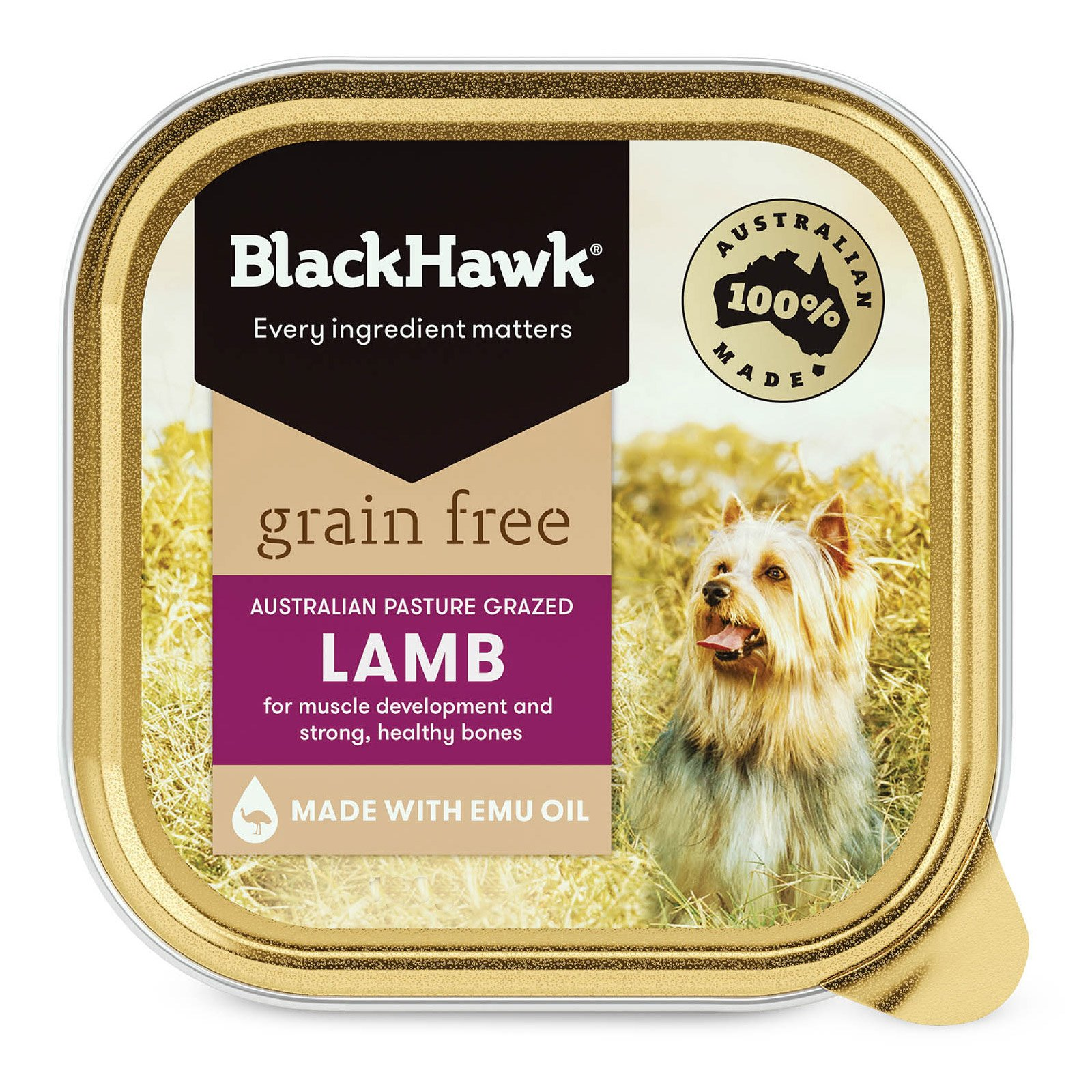 Black Hawk Grain Free Lamb Canned Wet Dog Food