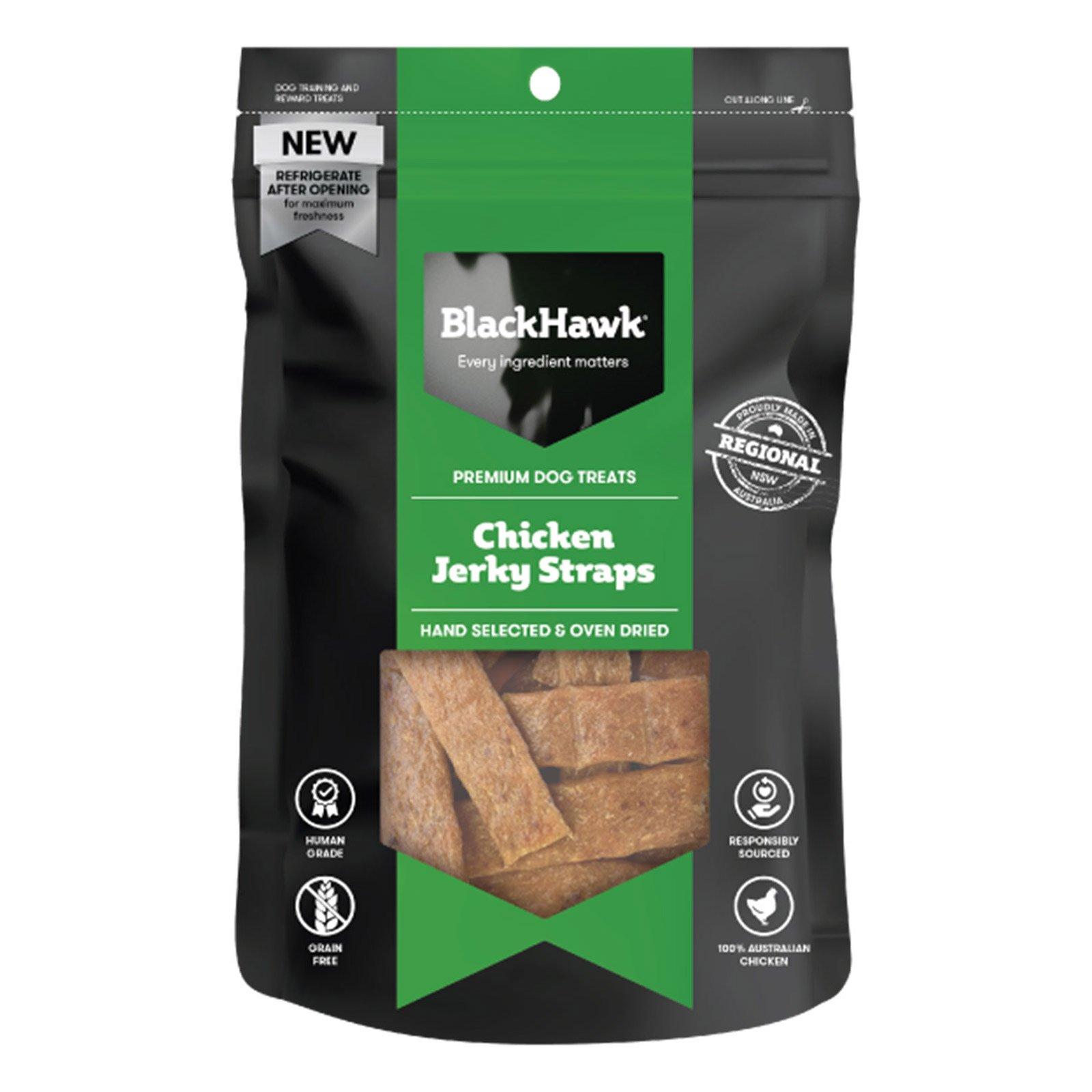 Black Hawk Dog Chicken Straps