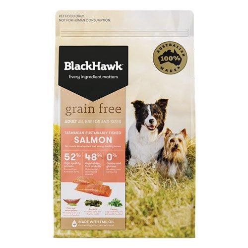 BlackHawk Dog Grain Free Salmon