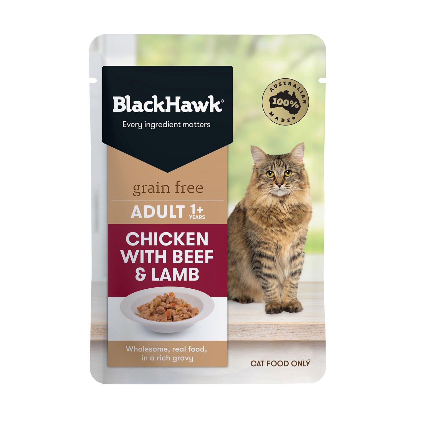 BlackHawk Cat Chicken/ Beef/Lamb 85g