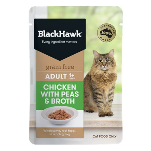 BlackHawk Cat Chicken/Peas/Broth