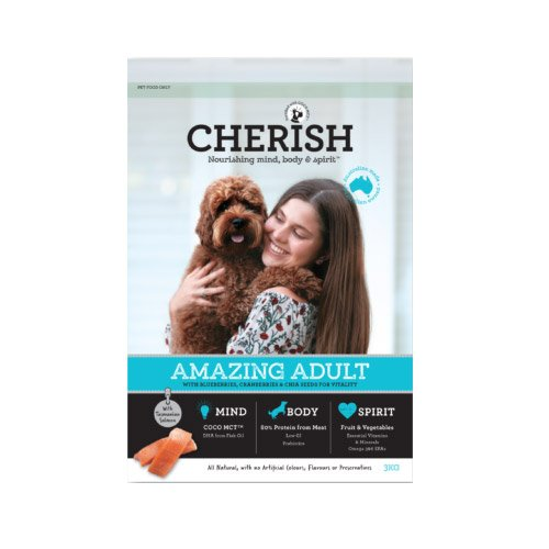 Cherish Amazing Adult Salmon And Chicken Dry Dog Food