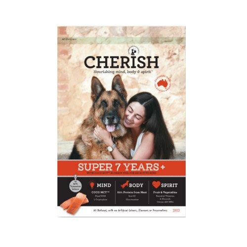 Cherish Super 7+ Years Salmon And Chicken Dry Dog Food