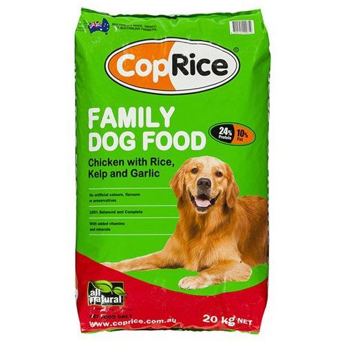 CopRice Adult Family Chicken, Veg & Brown Rice  Dog Food