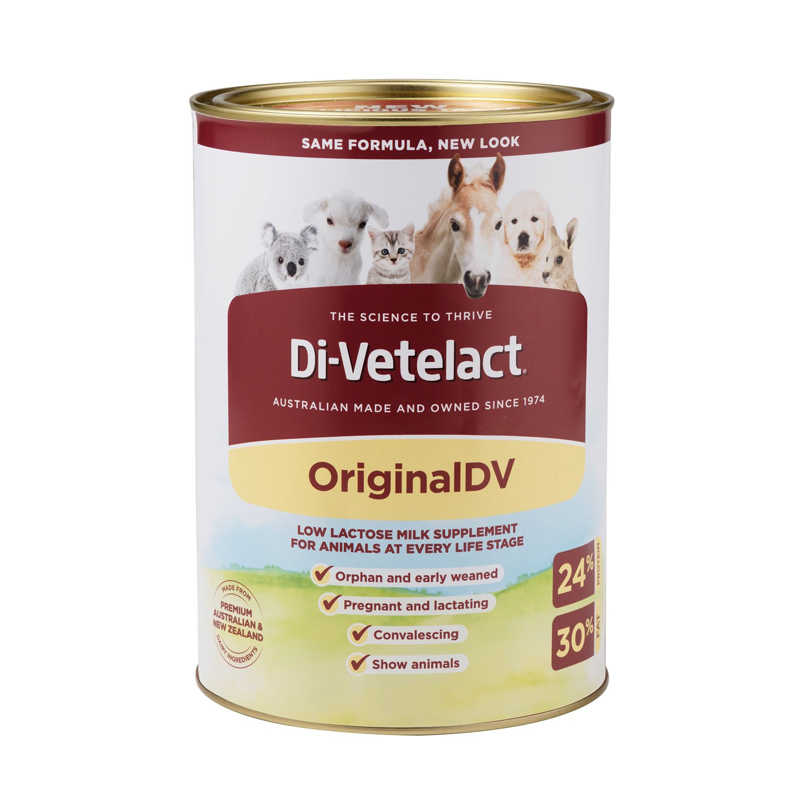 Di-Vetelact – Low Lactose Supplement