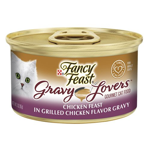 Fancy Feast Cat Adult Gravy Lovers Chicken