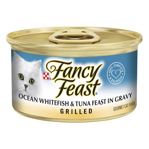 Fancy Feast Cat Adult Grilled Ocean Whitefish Tuna