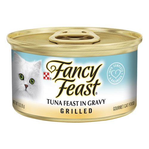Fancy Feast Cat Adult Grilled Tuna Feast in Gravy 85g X 24 Cans