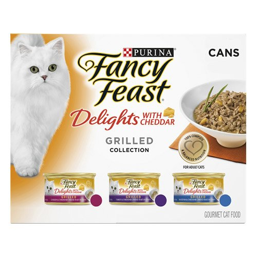 Fancy Feast Cat Adult Variety Pack Cheddar Delight