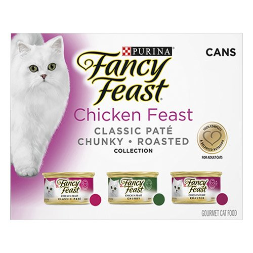 Fancy Feast Cat Adult Variety Pack Chicken Feast