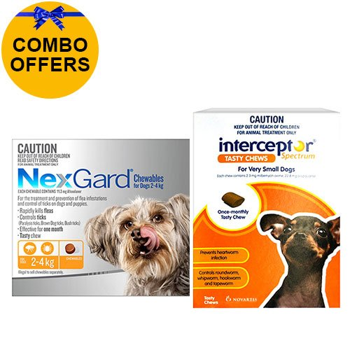 Nexgard + Interceptor Combo Pack