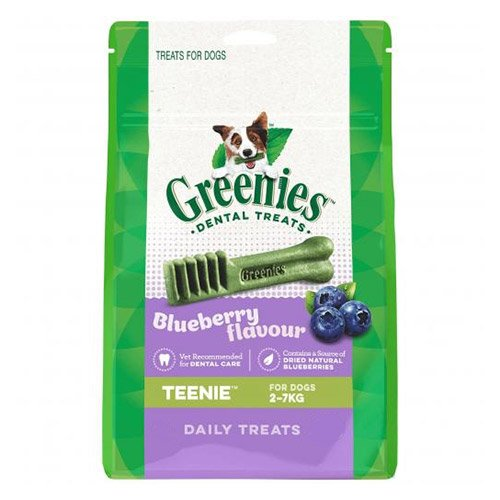 Greenies Blueberry Dental Treats Teenie