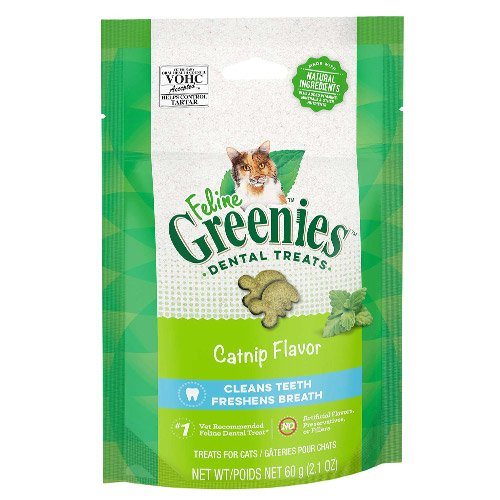 Greenies Feline Dental Treats Catnip Flavour for Cats