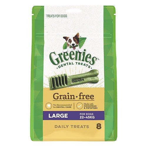 GREENIES GRAIN FREE LARGE DOG DENTAL TREATS 22-45 KGS
